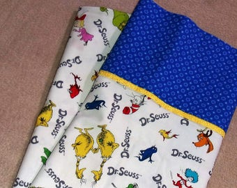 Dr Seuss Pillow Case