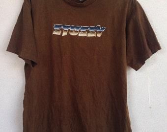 Vintage Stussy 90s tshirt L