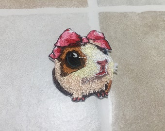 Embroidered Rabbit Patch Iron/Sew On