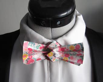 bow tie in origami flowers - mixed