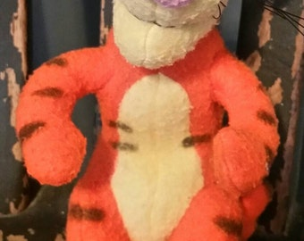 Disney's Tigger Plush Toy by Gund/100 Acre Woods Collection/7 Inch Toy/Baby Toy/Collectible Plush/Childs Gift/Nursery Decor/Vintage 1990s