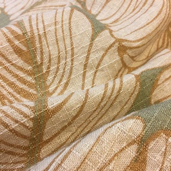 Tropical Home Decor Fabric. 1/2 yd. Palm Leaf Home Decor Fabric ...