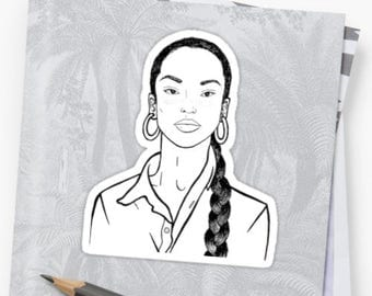 Sade Sticker