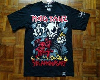 RARE!!! Mad Toyz 5th Anniversary T Shirt Metal Thrashing Mad Toyz Special Edition Shirt Size Small