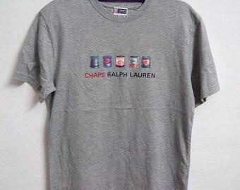 Vintage Chaps Polo Ralph Lauren Shirt Size Large