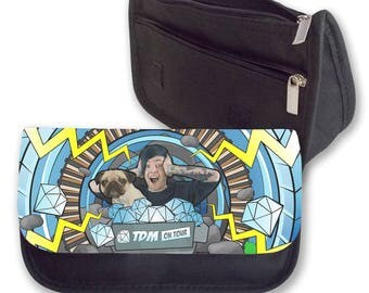 DANTDM ON TOUR  Pencil case / Clutch or Make up bag