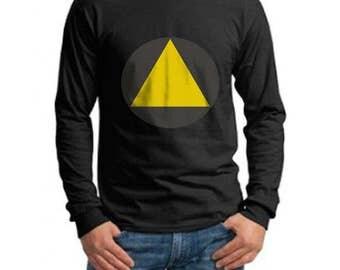 Triangle on Longsleeve MEN tee