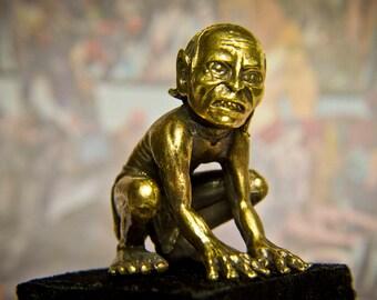 Gollum - Smeagol figure / LOTR fan-art / Fandom figure / The Lord of the Rings / Fandom toy