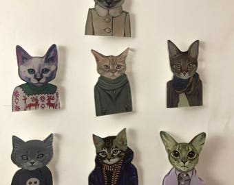 The coolest Cat Badges in the world!
