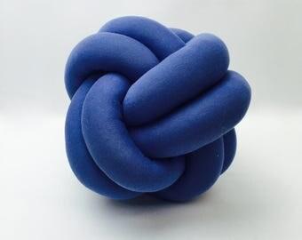 Mini Wonka Purple Knot Cushion Pillow