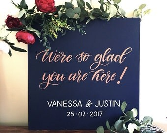 Thank you wedding sign. Wooden wedding sign. Wedding decor. Wedding accessories. Rustic wooden wedding sign. Willow and Ink Design