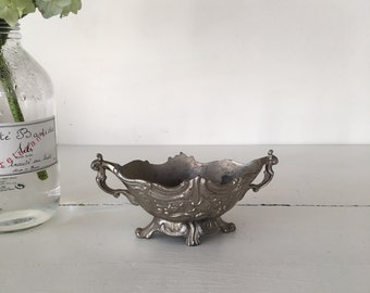 Vintage French Pewter jardinier