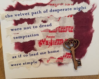 Poetry Art Card #13