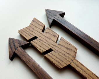 Wooden arrow, Wooden arrow decor, Wooden arrow art, Wall Decor, rustic arrow, Wood Arrow Sign