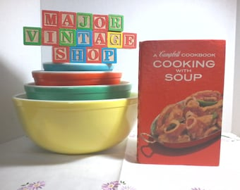 """A Campbell Cookbook """"Cooking With Soup"""" first Canadian printing 1973"""