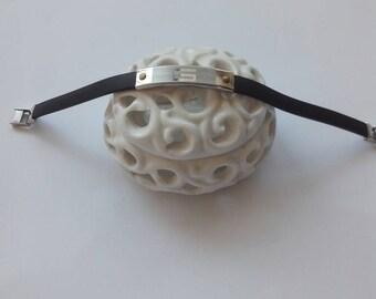 Samantha Valentine vintage Rubber Bracelet