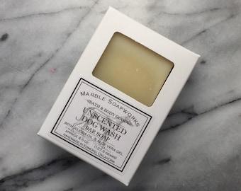 Dog Shampoo bar soap, unscented