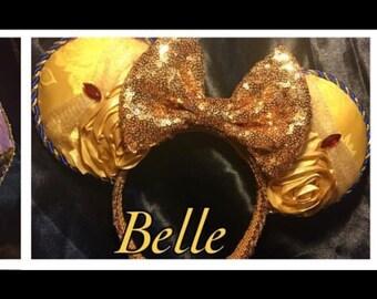 belle inspired ears