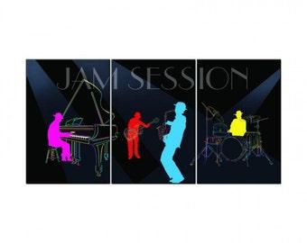 Jam Session, Triptych