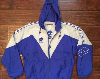Vintage Lotto Windbreaker