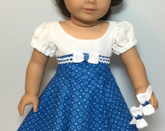 Fits like American Girl Doll Clothes or American Girl Doll Dress - 18 inch Doll Clothes - AG Doll Cloths