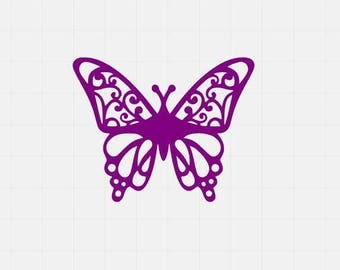 Beautiful Buterfly Svg, Butterfly Svg File, Svg Cutting File, Svg For Cricut, Svg For Silhouette, Butterfly Cut Files,