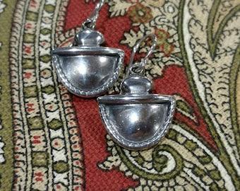 Handcrafted Sterling Silver Roggio earrings