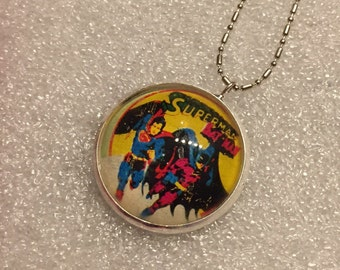 Necklace Batman & Superman