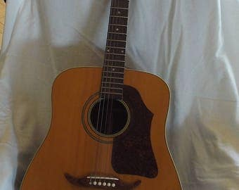 KINGSTON Acoustic Guitar -VINTAGE--Create Your Music--Very Good Condition--BARGAIN!