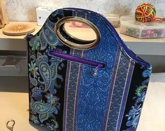 Purse - Grommet handle purse
