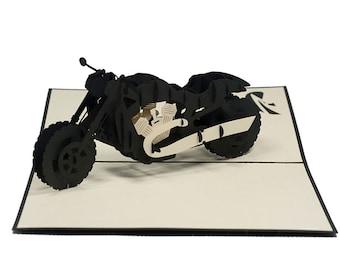 Motorbike Popup card
