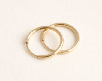 Thin Gold Hoops - High quality gold hoops, 14k gold filled hoops, Gold hoops, Simple Hoop Earrings, Tiny Gold Hoops