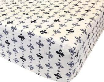 reg. price-26.00 Fleur Crib Sheet