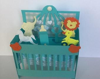 3d Baby Pop Up Box Card   3D Baby Boy Pop Up Box Card   Baby