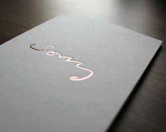 Sorry - Sympathy, Forgiveness, Friendship, Love Card