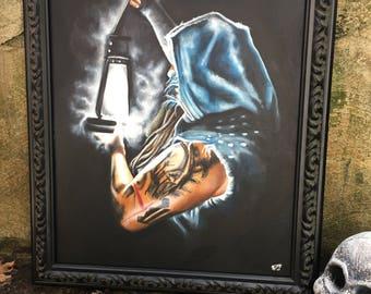Bray Wyatt Painting