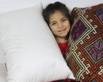 """16x24 pillow insert pillow inner pillow form pillow insert 16""""x24"""" kilim pillows stuffing floor pillow insert turkish pillow 40x60cm"""