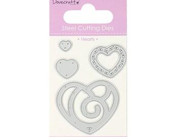 Dovecraft Mini Cutting Die Hearts