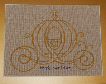 Personalized Cinderella Wedding Sampler