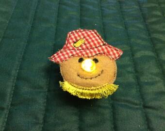 Scarecrow light up pin