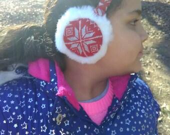 Ear warmer, Snowflake earwarmer