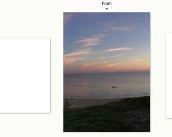 Smuggler's Beach notecard