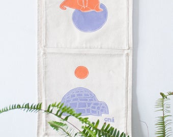 Wall Organizer, Decor Wall, Hanging Organizer, Kids Gift, Pockets, Wall Hangings, Kids Room, Keeps Clothes, Keeps toys, Keeps Books
