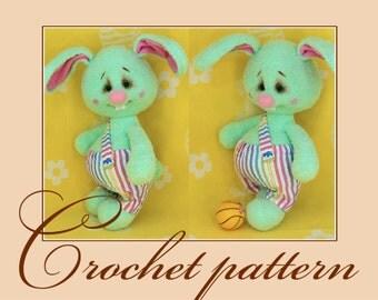 Egorka - Amigurumi Crochet Pattern PDF file by Anna Sadovskaya