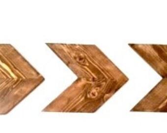 Chevron Wood/Wood Arrows