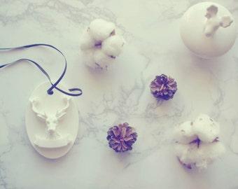Car Air Freshener / Flower Plaster Air Freshener / Ornament / Perfume / Moose / Deer / Fragrances