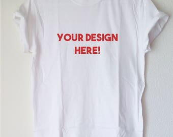 Graphic Tee: Custom T-Shirts Available