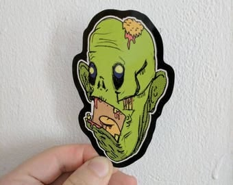 Zombie BRAAAAINS Sticker