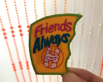 Vintage Friends Always Patch
