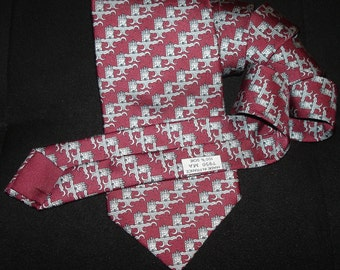 Hermes Silk Tie 7950 MA Made in France / PROMOTION! Free shipping. Rare HERMES tie